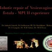Robotic repair of vesicovaginal fistula – initial experience