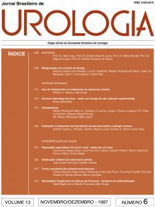 25 anos de Urologia no Brasil