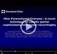Hilar Parenchymal Oversew: a novel technique for robotic partial nephrectomy hilar tumor renorrhaphy