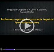 Saphenous-sparing laparoscopic inguinal lymphadenectomy