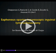 Saphenous-sparing laparoscopic inguinal lymphadenectomy