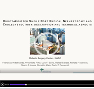 Robot-assisted single port radical nephrectomy and cholecystectomy: description and technical aspects