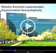 Robotic assisted laparoscopic augmentation ileocystoplasty