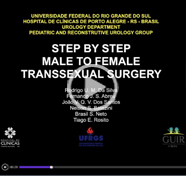 Step by step male to female transsexual surgery