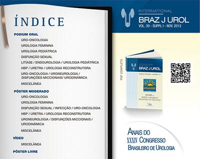 XXXIV Congresso Brasileiro de Urologia – 2013