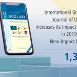 New Impact Factor of the International Brazilian Journal of Urology