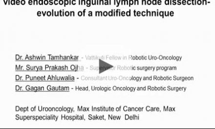 Technical caveats in robot assisted video endoscopic inguinal lymph node dissection – evolution of a modified technique
