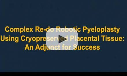 Complex Re-do robotic pyeloplasty using cryopreserved placental tissue: an adjunct for success