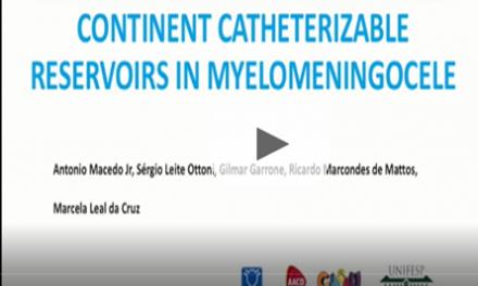 Conversion of vesicostomy into continent catheterizable reservoirs in myelomeningocele