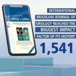 New Impact Factor of the International Brazilian Journal of Urology 2020