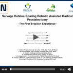 Salvage Retzius sparing robotic assisted radical prostatectomy: the first brazilian experience